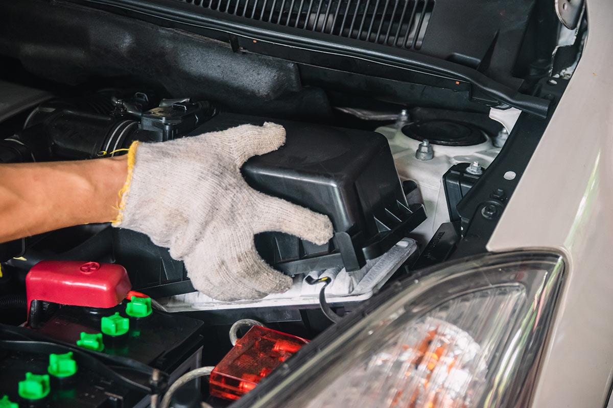 remplacement filtre à auto