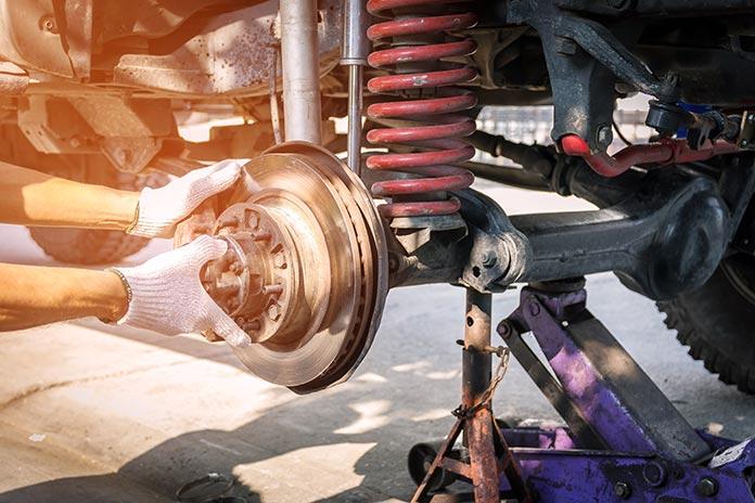 remplacement suspension auto
